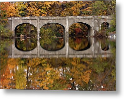 Metal Print featuring the photograph Reflections by Timothy McIntyre