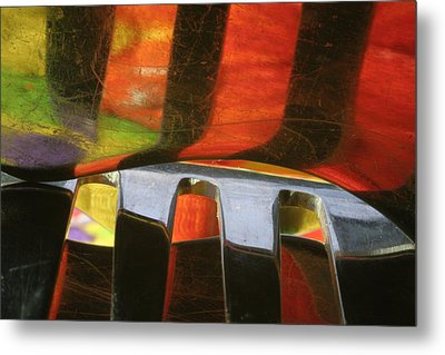 Metal Print featuring the photograph Reflections2 by Christine Amstutz