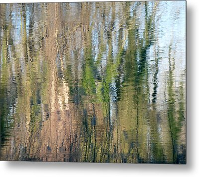 Metal Print featuring the photograph Reflet Rhodanien Pastel 1 by Marc Philippe Joly