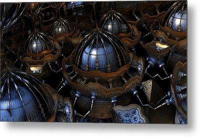 Regeneration Pods Metal Print