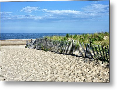 Metal Print featuring the photograph Rehoboth Delaware by Brendan Reals