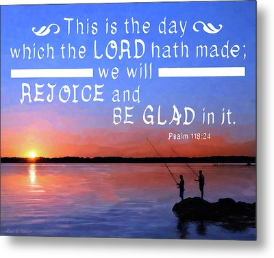 Rejoice And Be Glad Metal Print