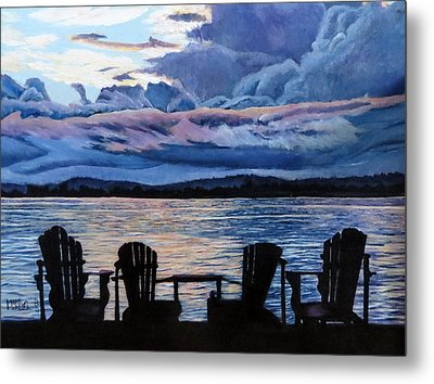 Relax Metal Print by Marilyn McNish