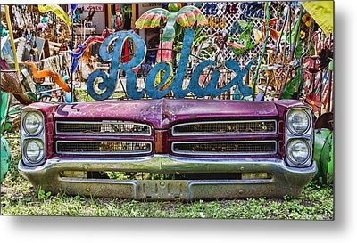 Relax Metal Print by Stephen Stookey