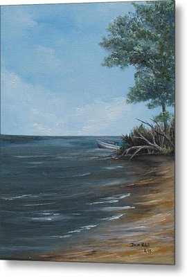 Relaxation Island Metal Print