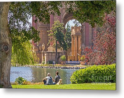 Relaxing At The Palace Metal Print by Kate Brown