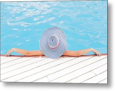 Relaxing Metal Print by Happy Home Artistry