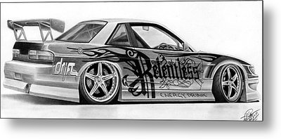 Relentless Drift Metal Print by Lyle Brown