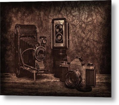 Metal Print featuring the photograph Relics by Mark Fuller