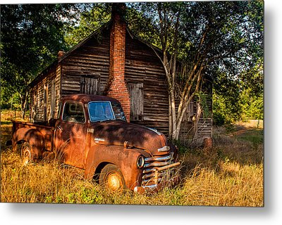 Relics Of The Past Metal Print by Sussman Imaging