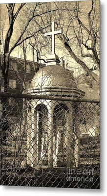 Religion Metal Print by Reb Frost