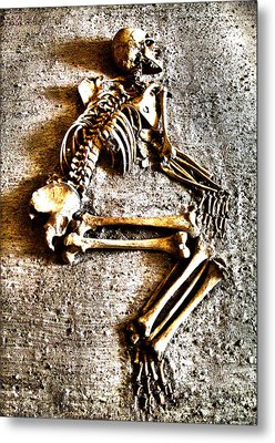 Remains ... Metal Print by Juergen Weiss