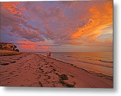Remains Of The Day Metal Print by HH Photography of Florida