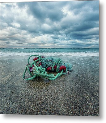 Remains Of The Day Metal Print by Stelios Kleanthous