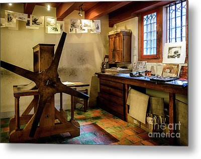 Metal Print featuring the photograph Rembrandt's Former Graphic Workshop In Amsterdam by RicardMN Photography
