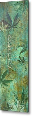 Remedy Metal Print by Gayle Utter