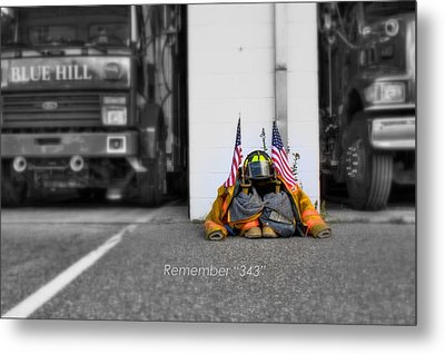 Metal Print featuring the photograph Remember  by Greg DeBeck
