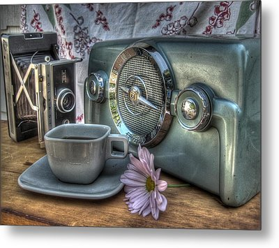 Remember The Past Metal Print by Jane Linders