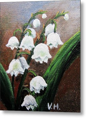 Remember The Scent Metal Print by Vesna Martinjak