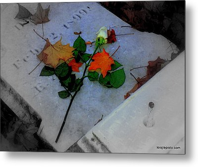 Rememberance Metal Print by Lois Lepisto