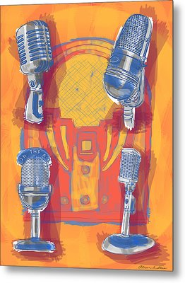 Remembering Radio Metal Print