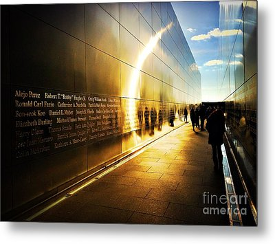 Remembrance At Empty Sky Metal Print