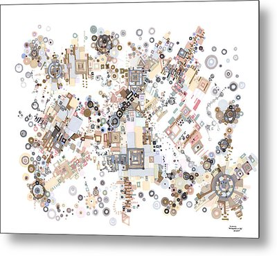 Remembrances Of Past Glories Metal Print by Regina Valluzzi