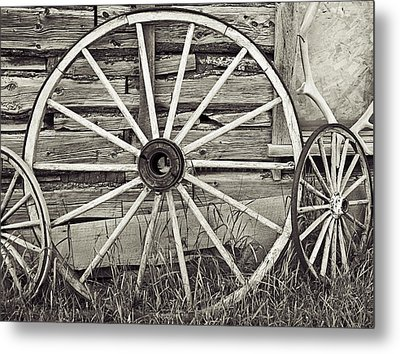 Remnants Of A Memory Metal Print by Melany Sarafis
