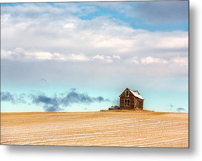 Remnants Of The Past Metal Print by Todd Klassy