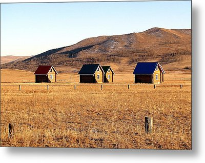 Remote Mongolia Metal Print by Diane Height