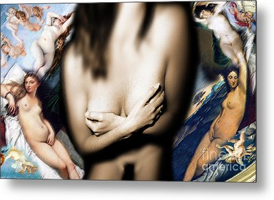 Metal Print featuring the photograph Renaissance by Sandro Rossi