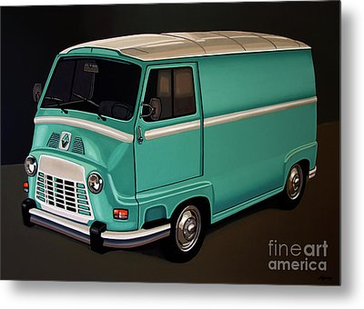 Renault Estafette 1959 Painting Metal Print by Paul Meijering