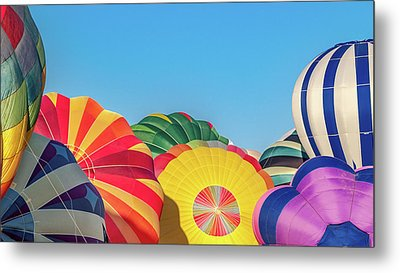 Metal Print featuring the photograph Reno Balloon Races by Bill Gallagher