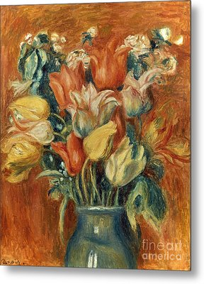 Renoir: Bouquet Of Tulips Metal Print by Granger