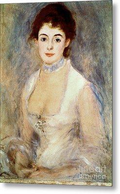 Renoir: Madame Henriot Metal Print by Granger