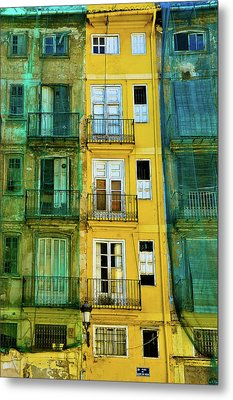 Metal Print featuring the photograph Renovation  by Harry Spitz