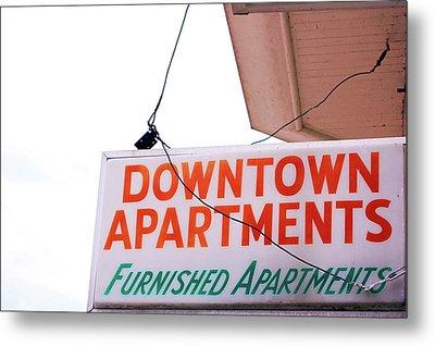 Rent Is Due Metal Print by Jame Hayes