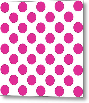 Repeating Circle Pattern - Custom Colors Metal Print by Mark E Tisdale
