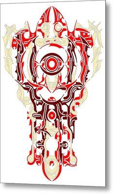 Requiem Vi Metal Print by David Umemoto