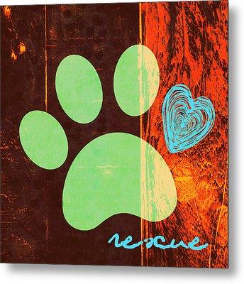 Rescue Paw 1 Metal Print