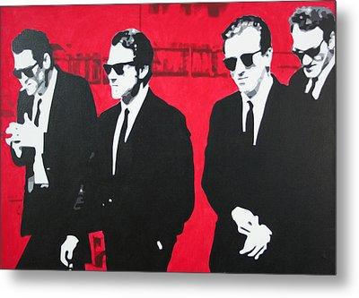 Reservoir Dogs 2013 Metal Print by Luis Ludzska