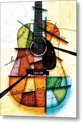 Resonancia En Colores Metal Print by Gary Bodnar