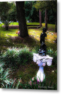 Metal Print featuring the photograph Rest In Peace by Anthony Baatz