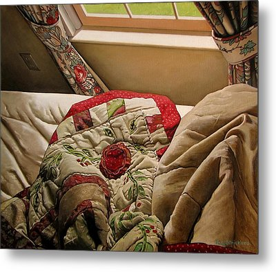 Rested Metal Print by Doug Strickland