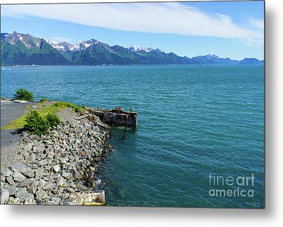 Resurrection Bay Metal Print by Jennifer White