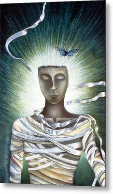 Resurrection Metal Print by Gloria Cigolini-DePietro