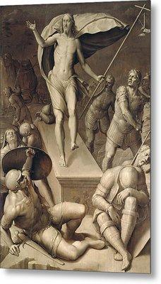Resurrection Of Christ Metal Print by Italian School