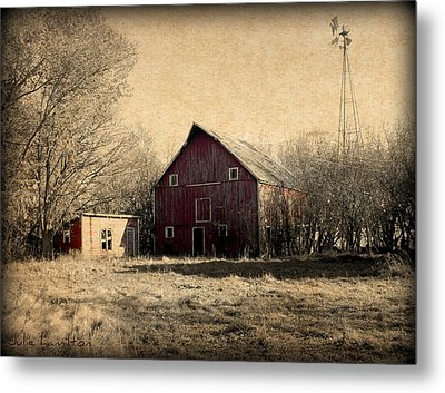 Retired 2 Metal Print by Julie Hamilton