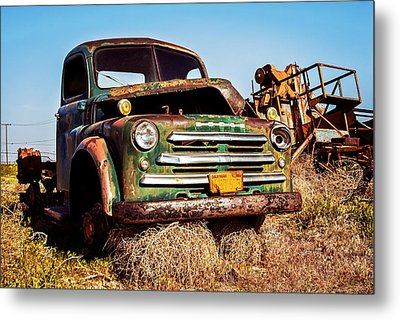Retired Metal Print by Aron Kearney