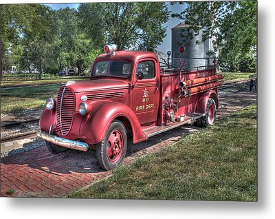 Retired Fire Chaser Metal Print
